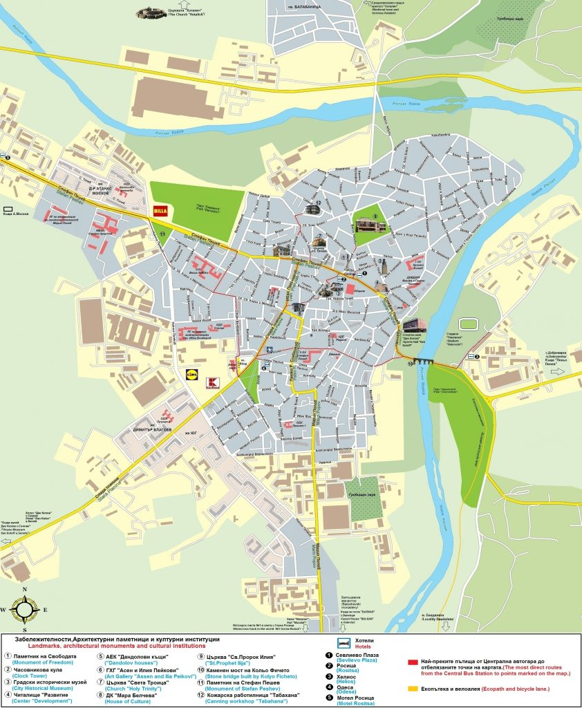Karta Na Sevlievo Informacionno Turisticheski Centr Gr Sevlievo